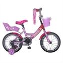 Meisjesfiets roze 14 inch Popal Little Miss 14P