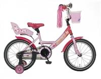 Meisjesfiets Popal Little Miss 16P Roze 16 Inch