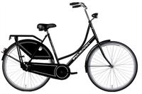 Dutch Classic omafiets zwart 28 inch