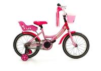 Little Miss 16P Popal meisjesfiets Roze 16 inch