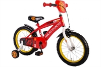 Manchester United 16 inch jongensfiets Rood / Wit