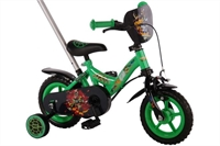 Teenage Mutant Ninja Turtles 10 inch jongensfiets - 41253 Groen
