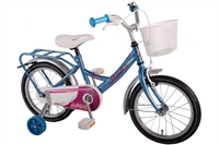 Volare Ashley 16 inch meisjesfiets Blauw