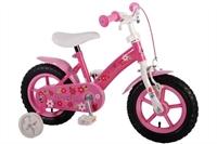 Yipeeh Flowerie 12 inch meisjesfiets Roze