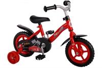Yipeeh Power 10 inch jongensfiets Rood Zwart