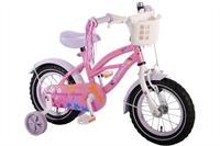 Yipeeh Springtime Cruiser 12 inch meisjesfiets Roze-Paars