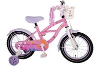 Yipeeh Springtime Cruiser 14 inch meisjesfiets Roze-Paars