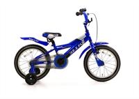 Popal Bike 2 Fly blauwe jongensfiets 16 inch