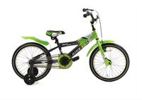 Bike 2 Fly Groen Popal jongensfiets 16 inch